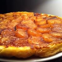 Tatin de navets au miel et à l'orange
